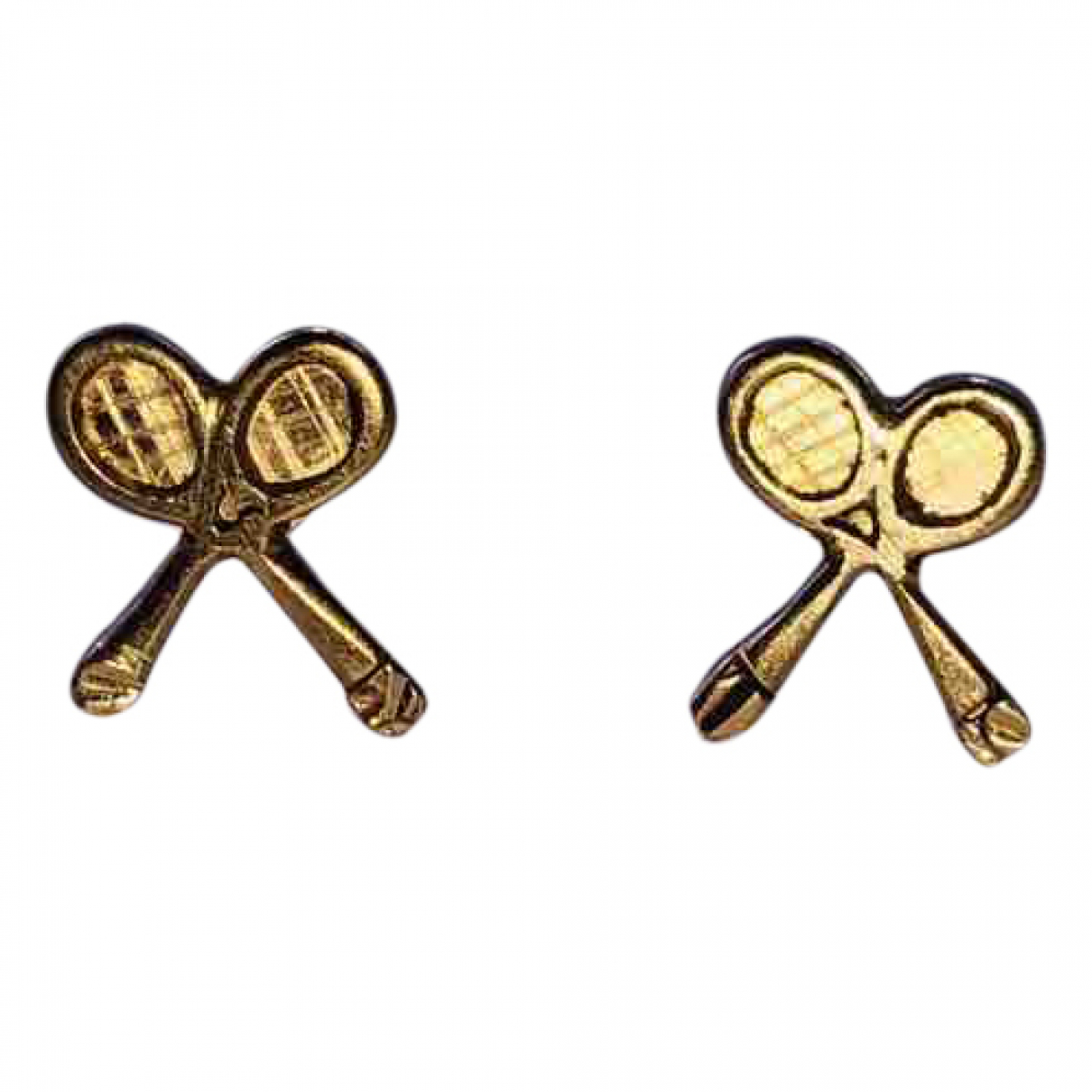 Non Signé / Unsigned \N Pink gold Earrings for Women \N