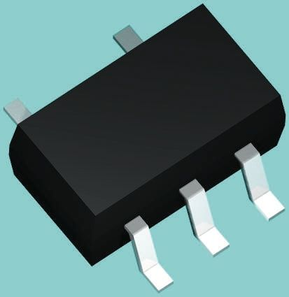 DiodesZetex Diodes Inc LM4041DFTA, Fixed Shunt Voltage Reference 1.225V, ±1.0 % 3-Pin, SOT-23 (25)