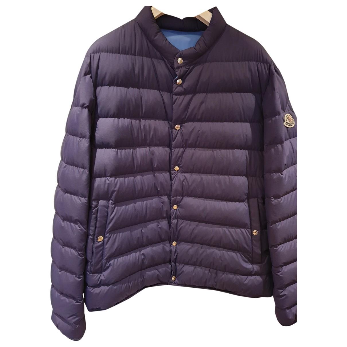 Moncler Classic Blue coat  for Men 5 0 - 6