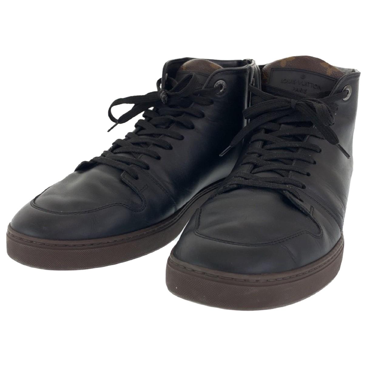 Louis Vuitton \N Sneakers in Leder