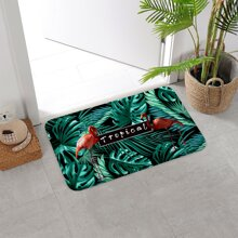 1pc Leaf Print Carpet