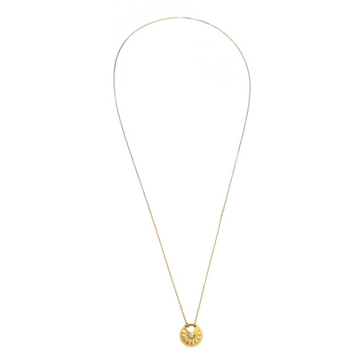 Cartier Amulette Halskette in  Gold Gelbgold
