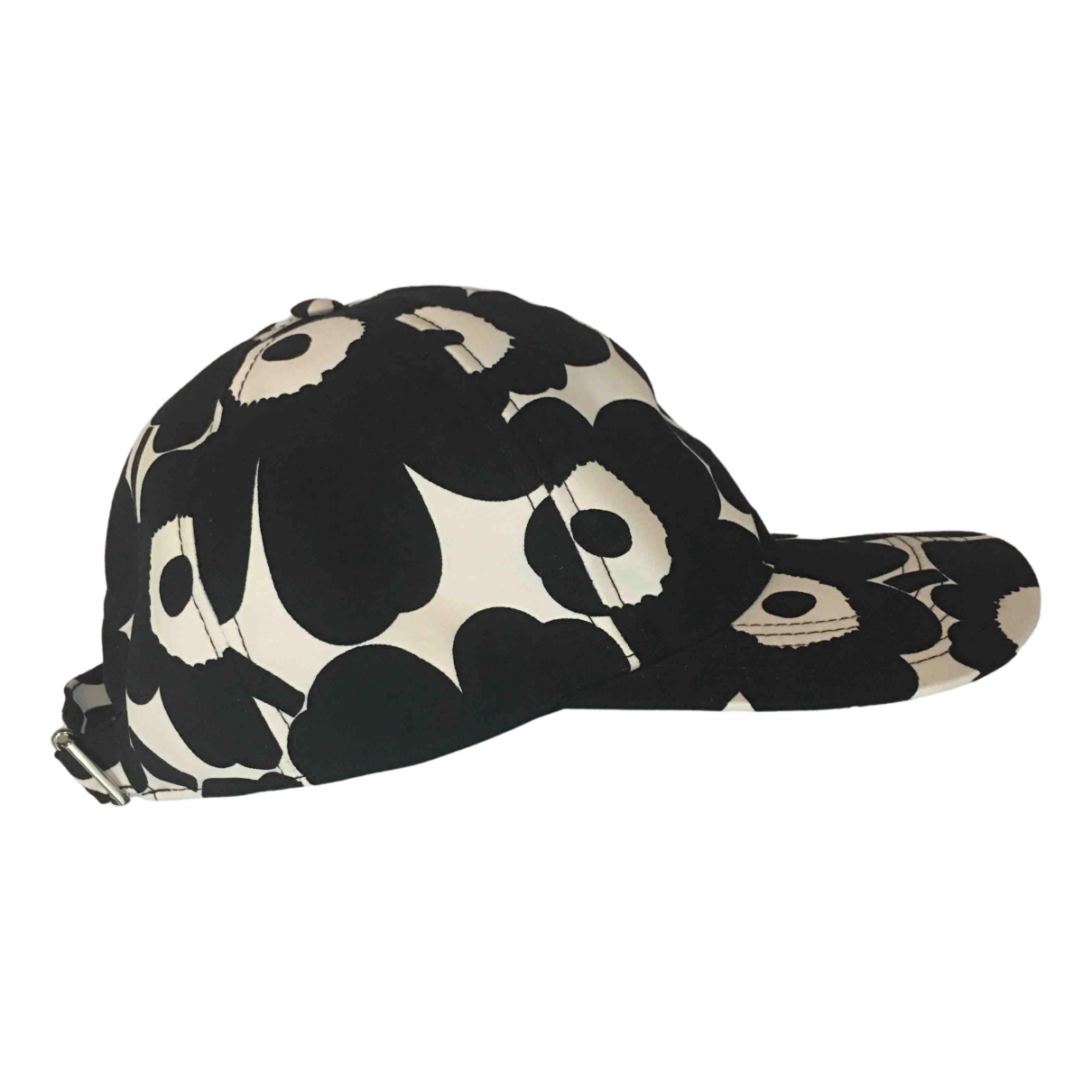 Marimekko - Chapeau & Bonnets   pour homme en coton - noir