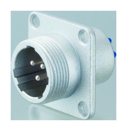 Nanahoshi Kagaku Connector, 3 contacts Panel Mount Socket, Solder