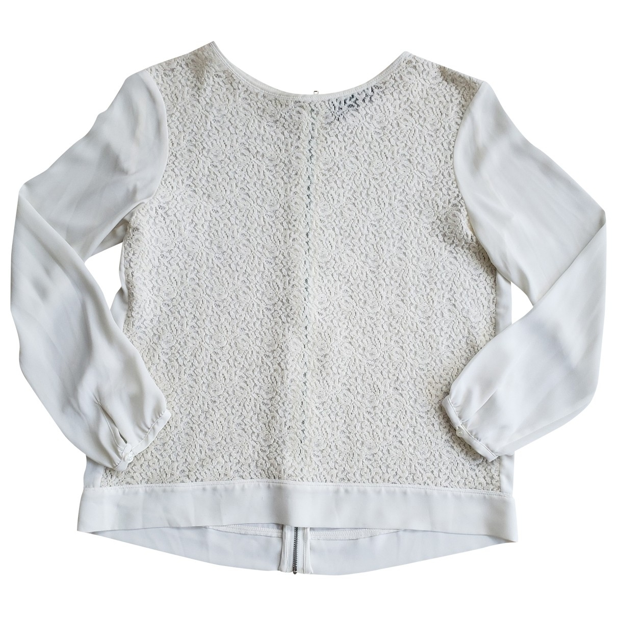 The Kooples \N Ecru Wool  top for Women L International