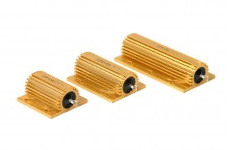 Arcol HS25 Series Axial Aluminium High Power Resistor, 500mΩ ±1% 25W