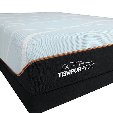 TEMPUR-Pedic LuxeBreeze Firm - Mattress + Box Spring, One Size , White
