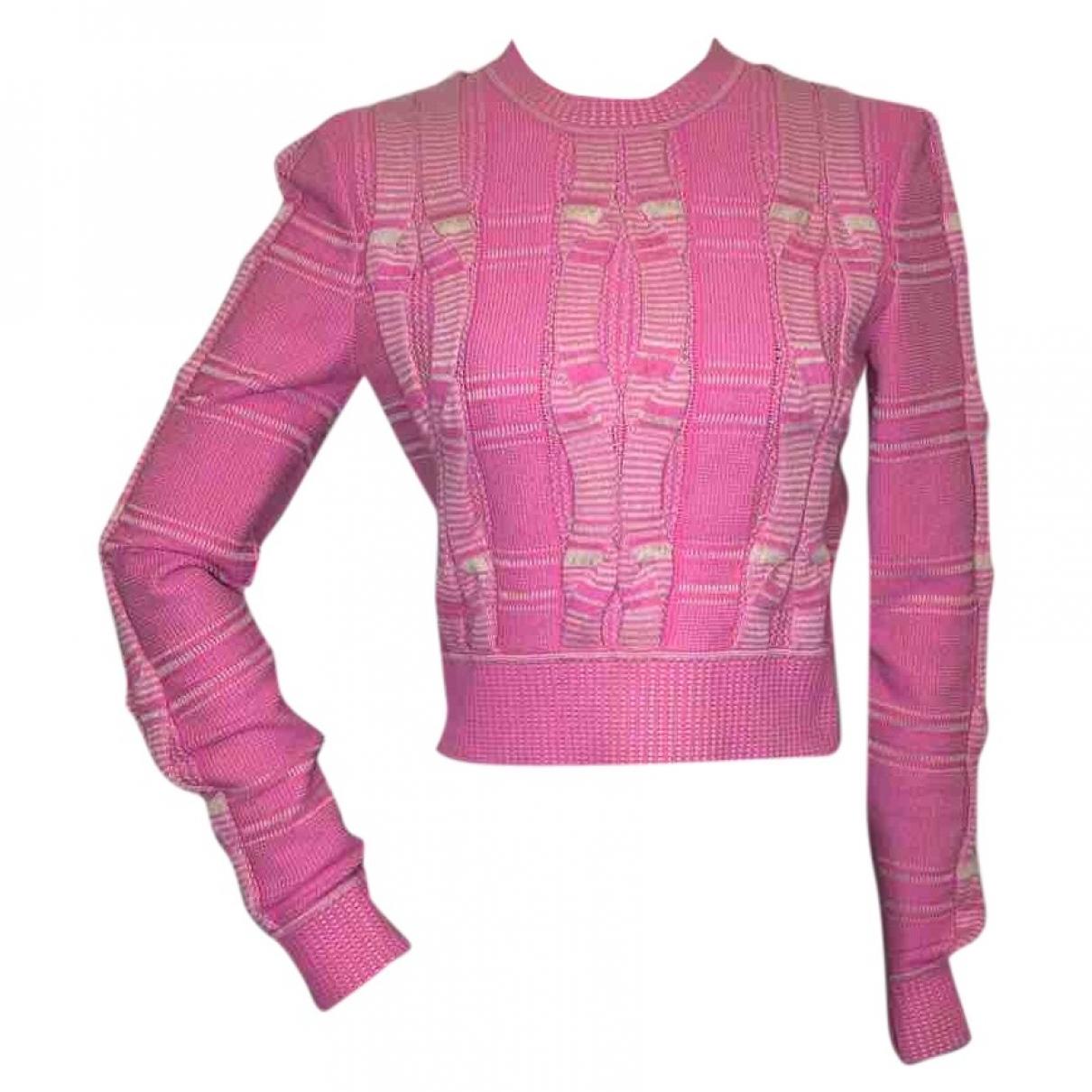 Fendi - Pull   pour femme - rose