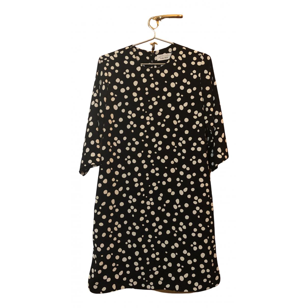 & Other Stories \N Kleid in  Schwarz Polyester