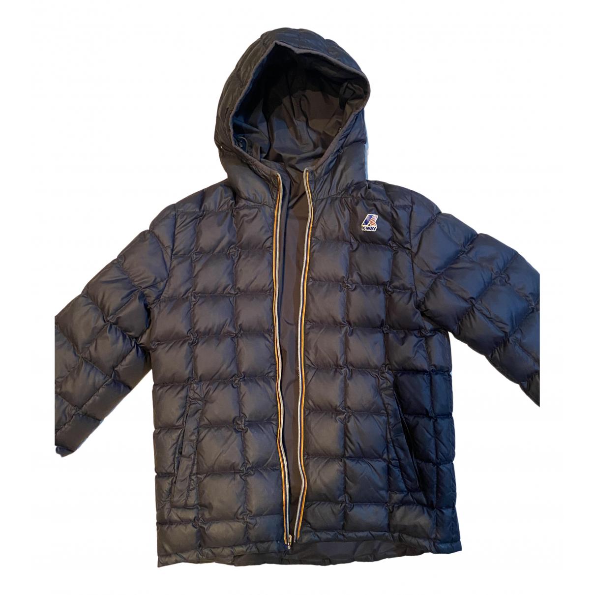 K-way - Manteau   pour homme en toile - noir