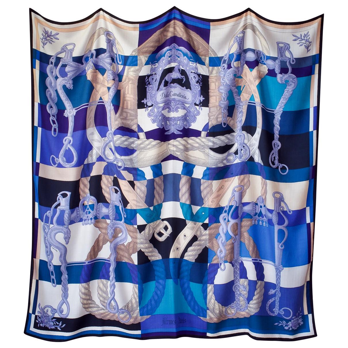 Hermès Châle 140 Multicolour Cashmere scarf for Women \N