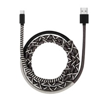 1pc Android Thread Wrapped Charging Cable