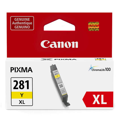 Canon CLI-281XL 2036C001 Original Yellow Ink Cartridge High Yield