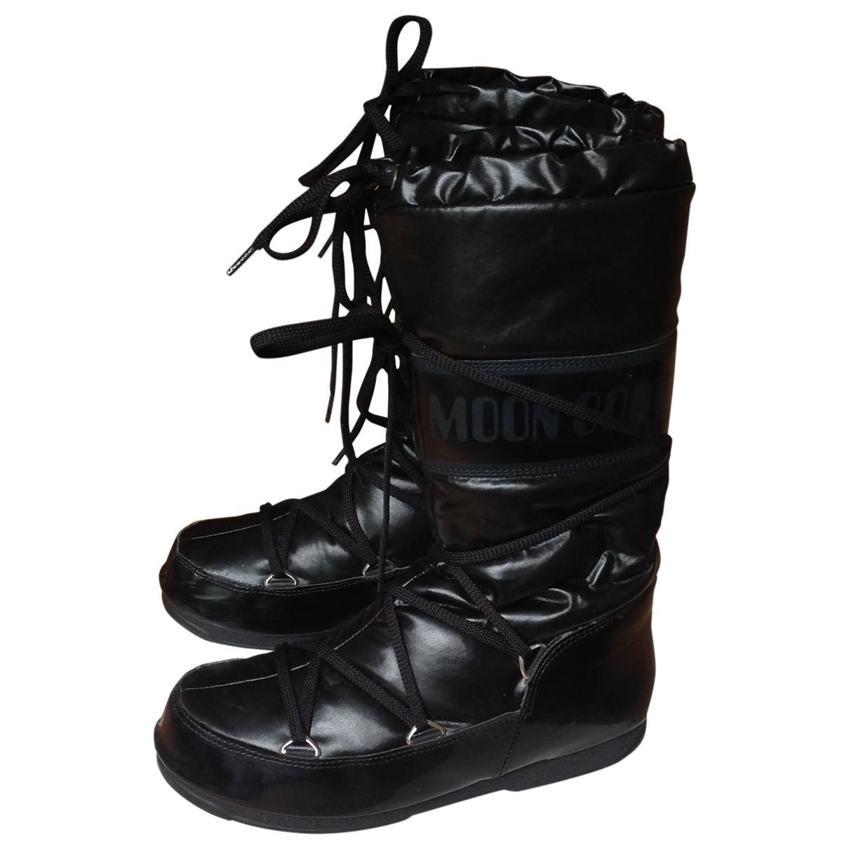 Botas de Lona Moon Boot