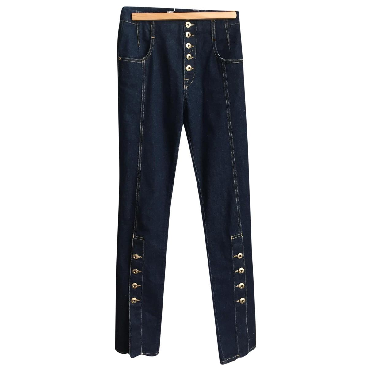 Jonathan Simkhai \N Blue Denim - Jeans Jeans for Women 25 US