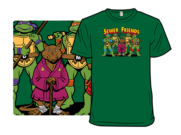 Sewer Friends T Shirt