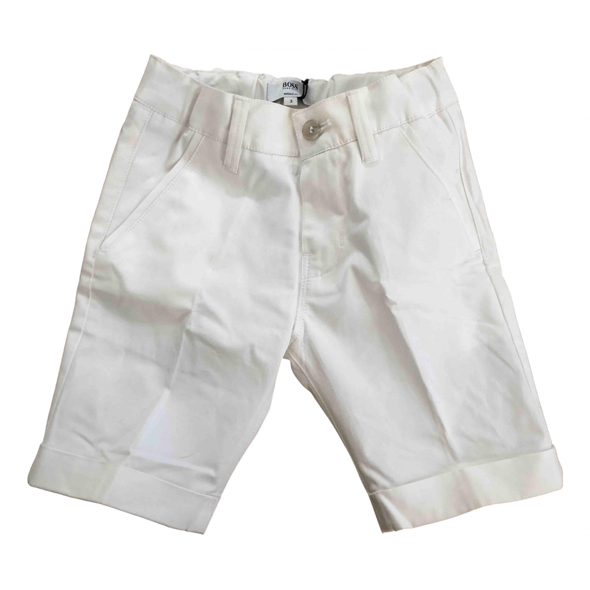Hugo Boss \N Shorts in  Weiss Baumwolle