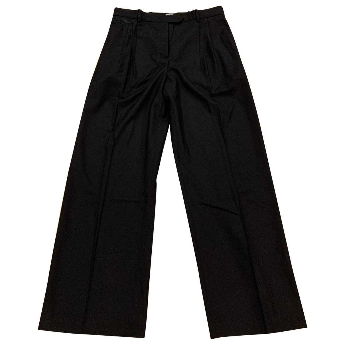 Hermès \N Cashmere Trousers for Women 40 FR