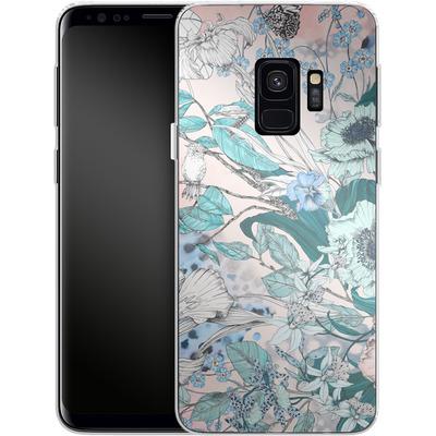 Samsung Galaxy S9 Silikon Handyhuelle - Make Me Blush von Stephanie Breeze