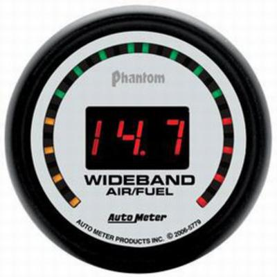 Auto Meter Phantom Wide Band Air Fuel Ratio Kit, 2-1/16 Inch - 5779