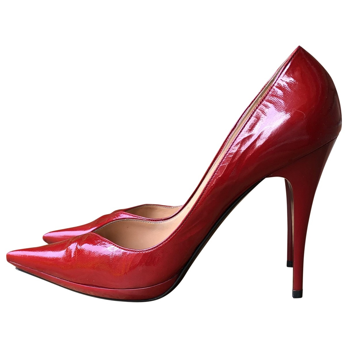 Casadei \N Red Patent leather Heels for Women 40 EU