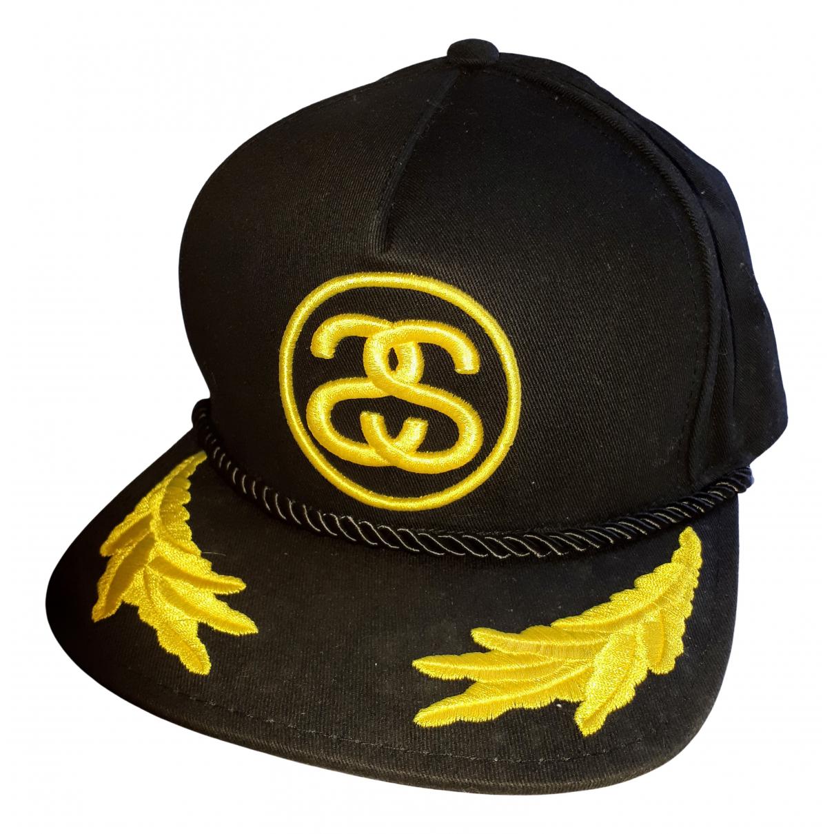 Stussy \N Black Cotton hat & pull on hat for Men 58 cm