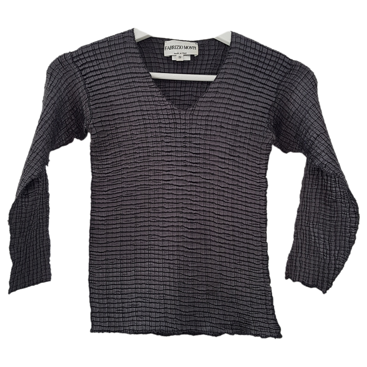 Non Signé / Unsigned \N Anthracite  top for Women S International