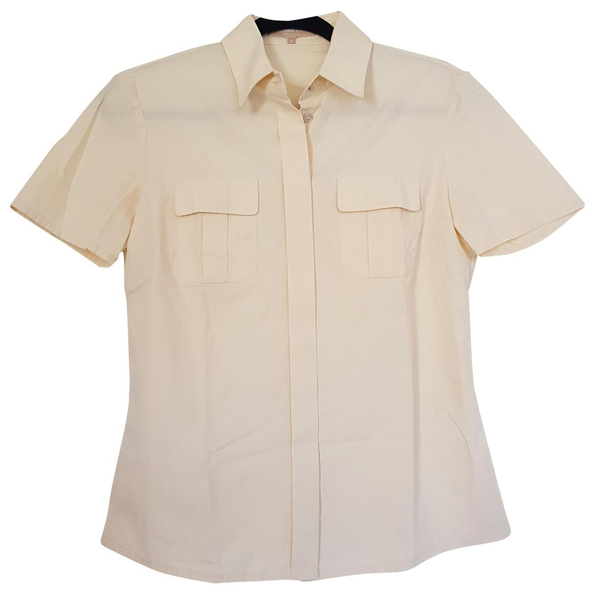 Michael Kors - Top   pour femme en coton - beige