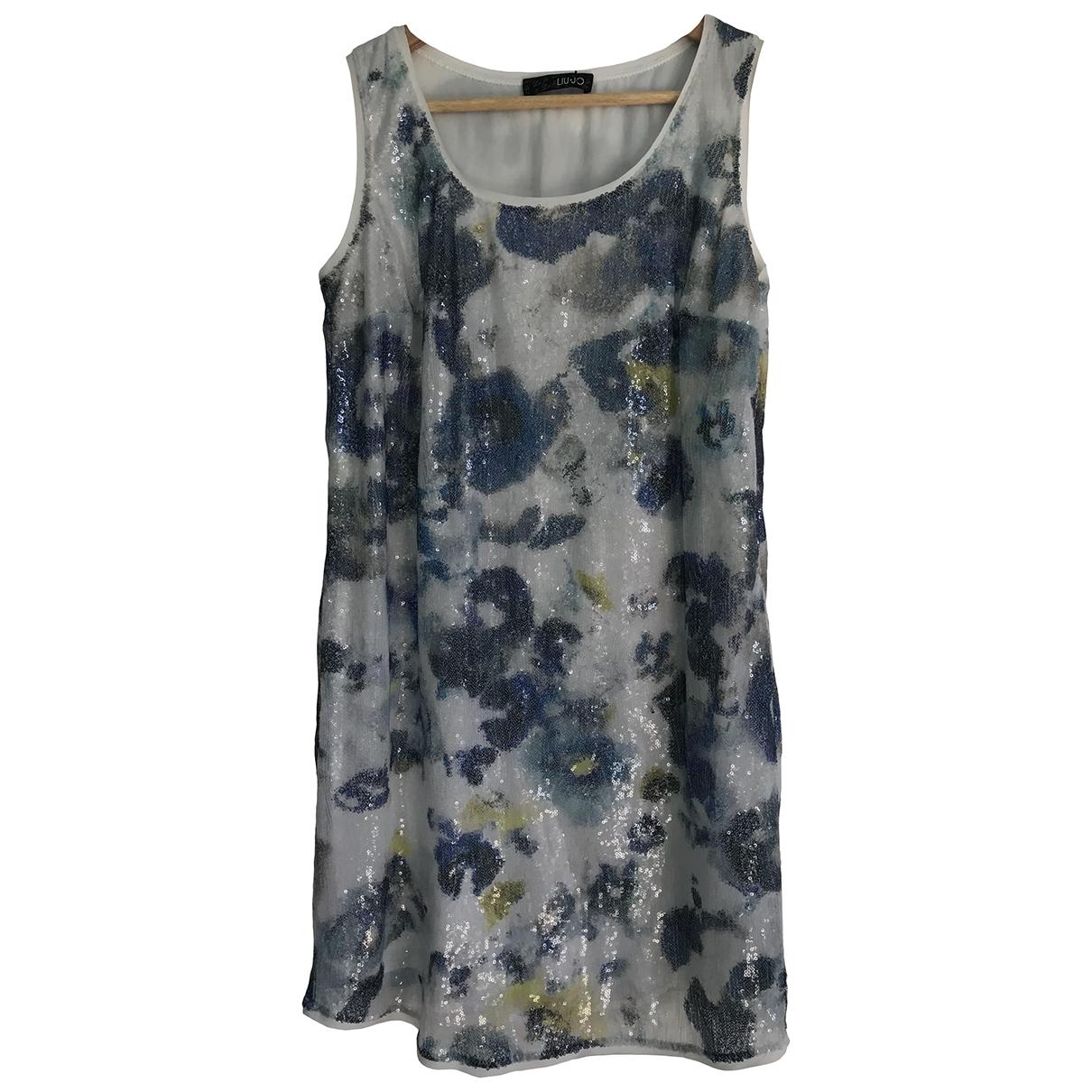 Liu.jo \N Kleid in  Blau Mit Pailletten