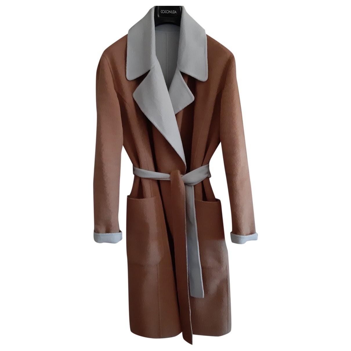 Max & Co \N Camel Wool coat for Women 42 IT