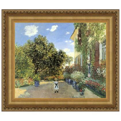 DA3894 44X38 Artists House At Argenteuil