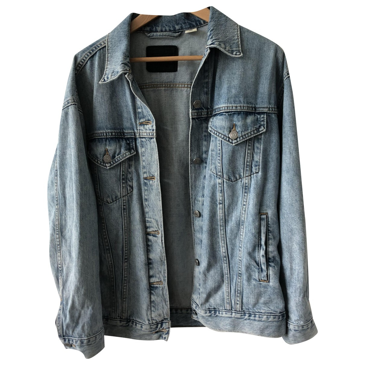 Levis \N Blue Denim - Jeans jacket for Women S International