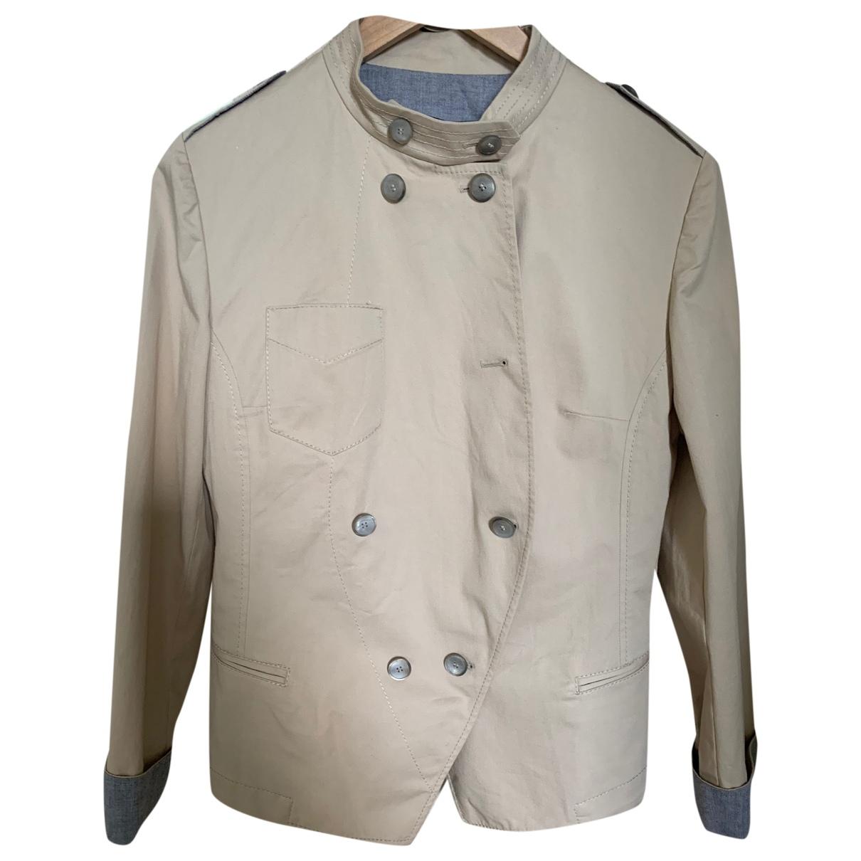 Dolce & Gabbana \N Beige Cotton jacket for Women 44 IT