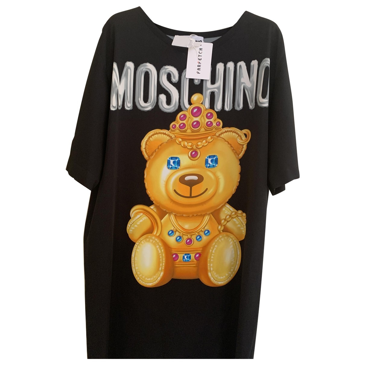 Moschino \N Black Cotton dress for Women 42 IT