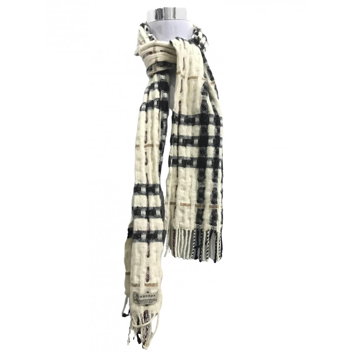 Burberry - Foulard   pour femme en cachemire - beige