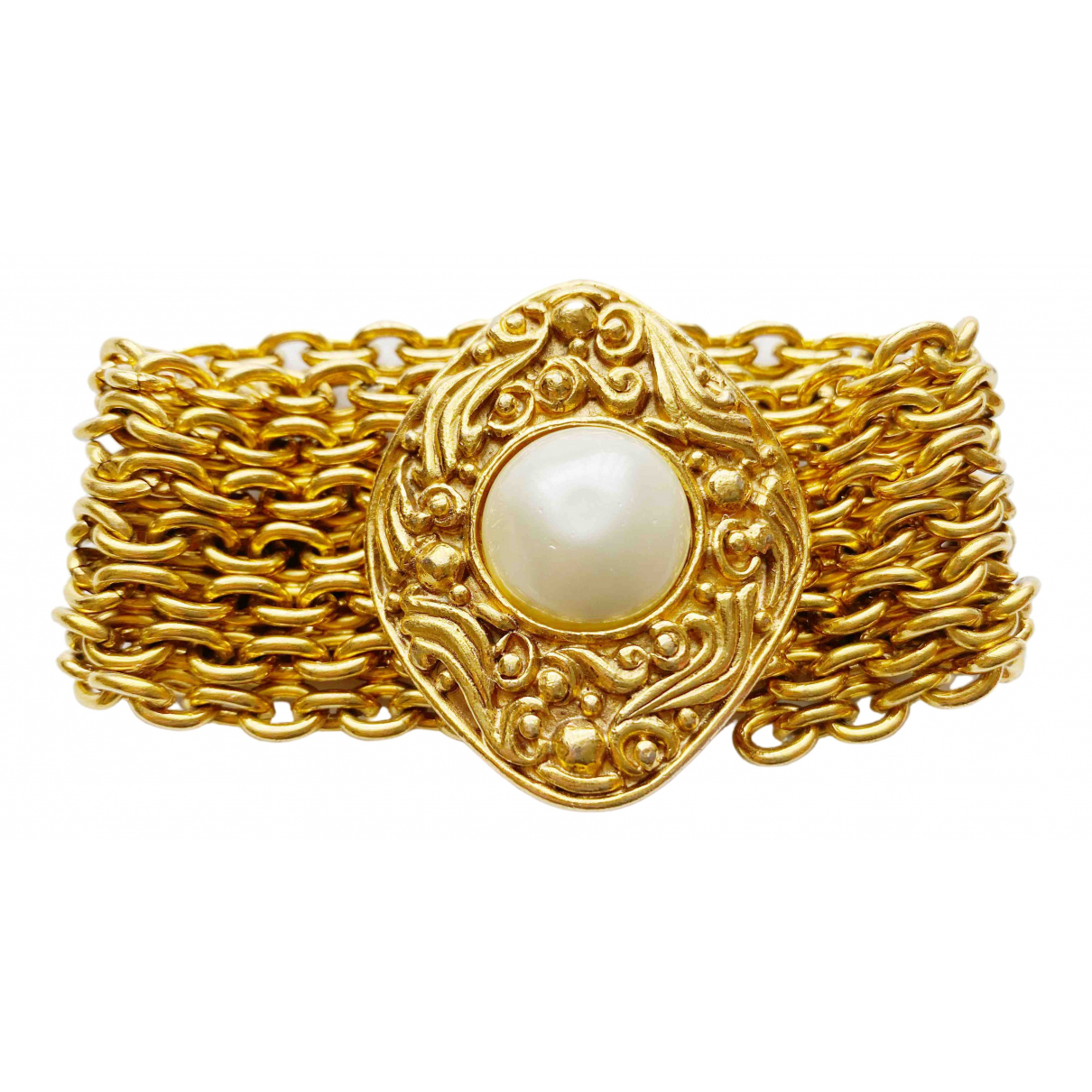Chanel \N Armband in Metall