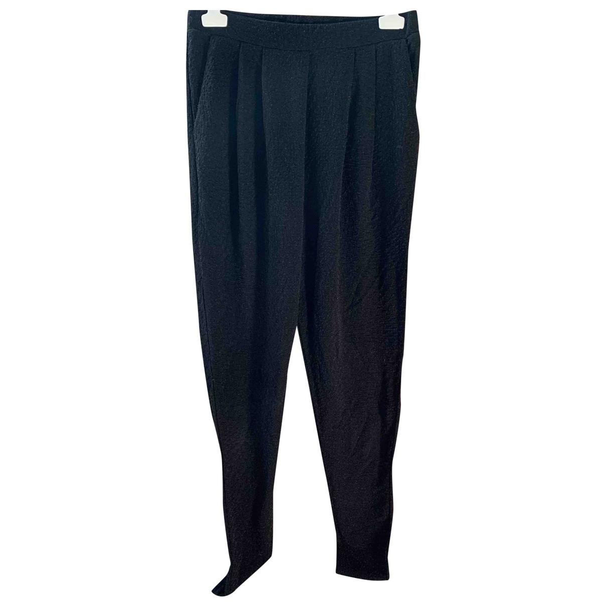 Faith Connexion \N Black Trousers for Women XL International
