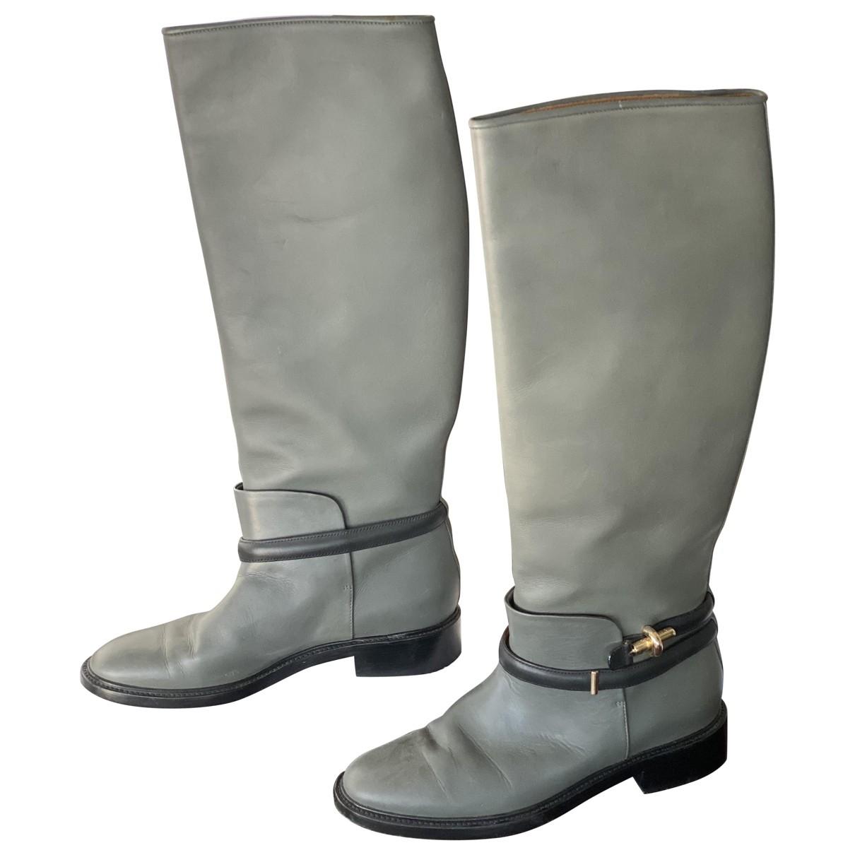 Botas altas de Cuero Balenciaga