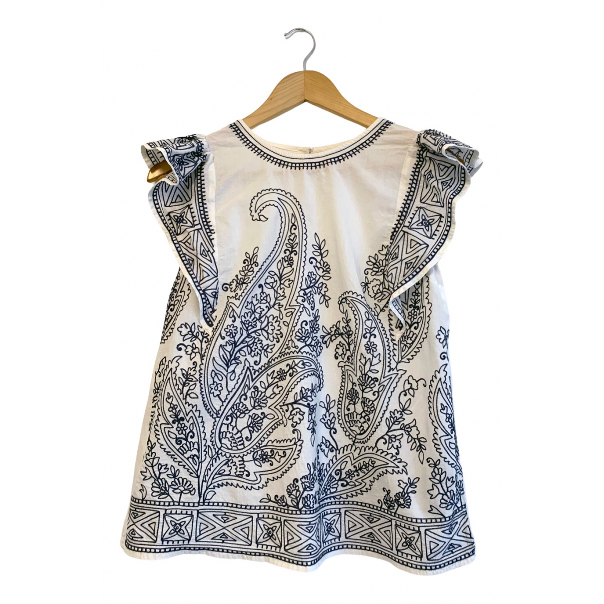 Abercrombie & Fitch N White Cotton  top for Women S International