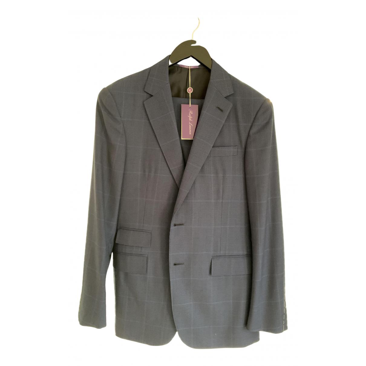 Ralph Lauren Purple Label N Blue Wool Suits for Men 38 UK - US