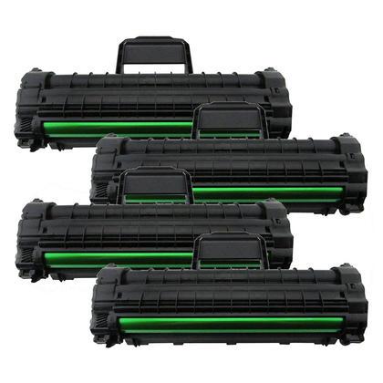 Compatible Samsung ML-1610D2 Black Toner Cartridge High Yield - Economical Box - 4/Pack