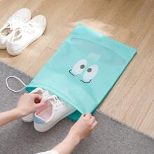 1pc Drawstring Shoes Storage Bag