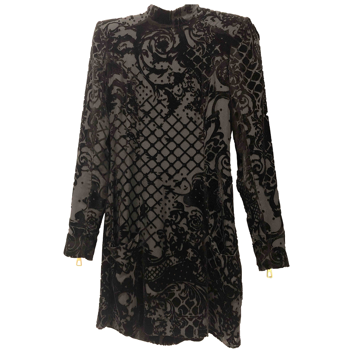 Balmain For H&m - Robe   pour femme - noir