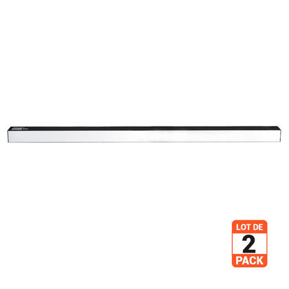 4Ft 50W LED Linear High Bay Light 4000K 5500 Lumens 120-277VAC Dimmable, UL & cUL Listed - 2/Pack