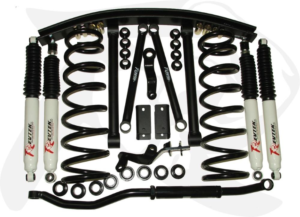 Revtek Ram 2500/3500 6.0 Inch Front 3.0 Inch Rear Axle Forward Suspension System 00-2002 Dodge Ram 2500/3500