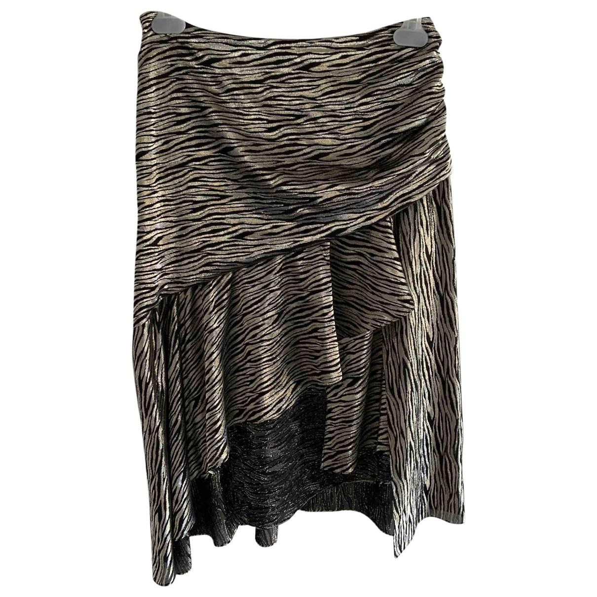 Iro \N Black Silk skirt for Women M International