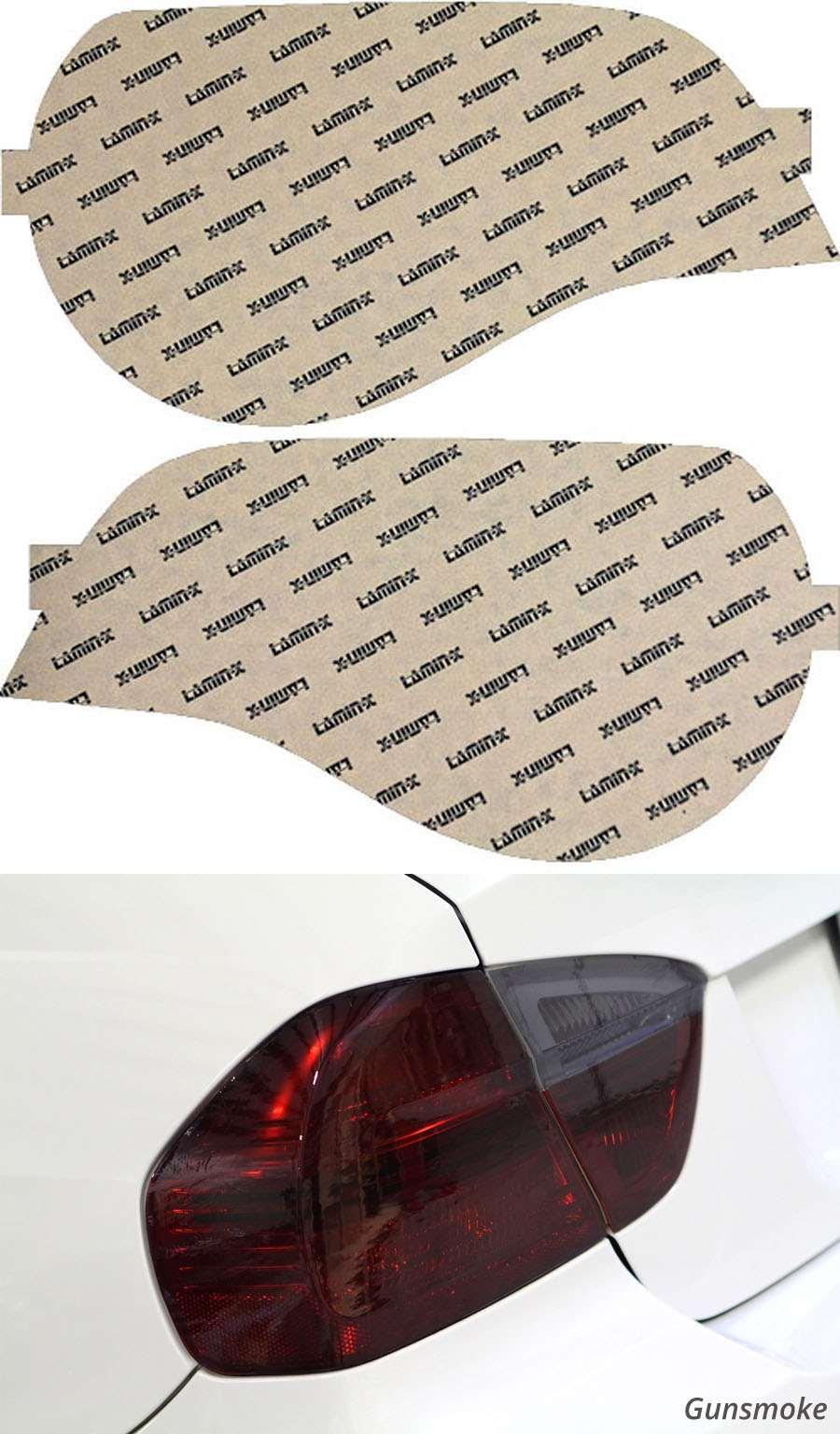 BMW Z4 & Z4M 06-08 Gunsmoke Tail Light Covers Lamin-X B209G