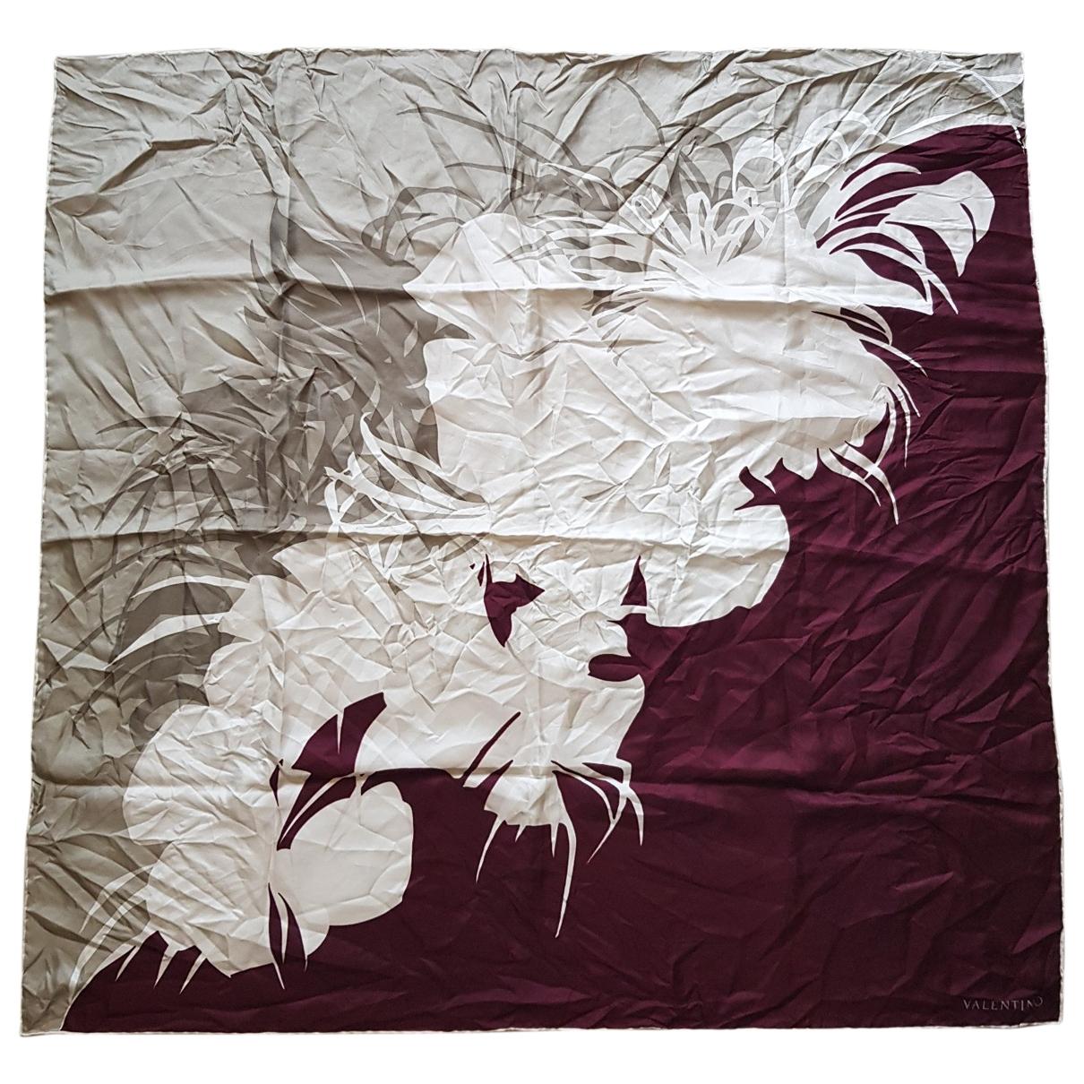 Valentino Garavani \N Multicolour Silk Silk handkerchief for Women \N