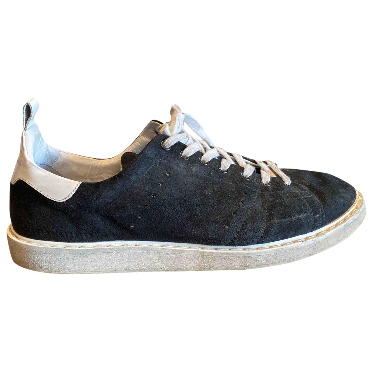 Golden Goose Starter Sneakers in  Schwarz Veloursleder