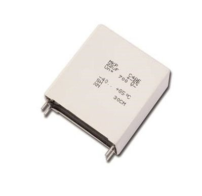 KEMET 3.3μF Polypropylene Capacitor PP 1.1kV dc ±5% Tolerance C4AQ Series (96)